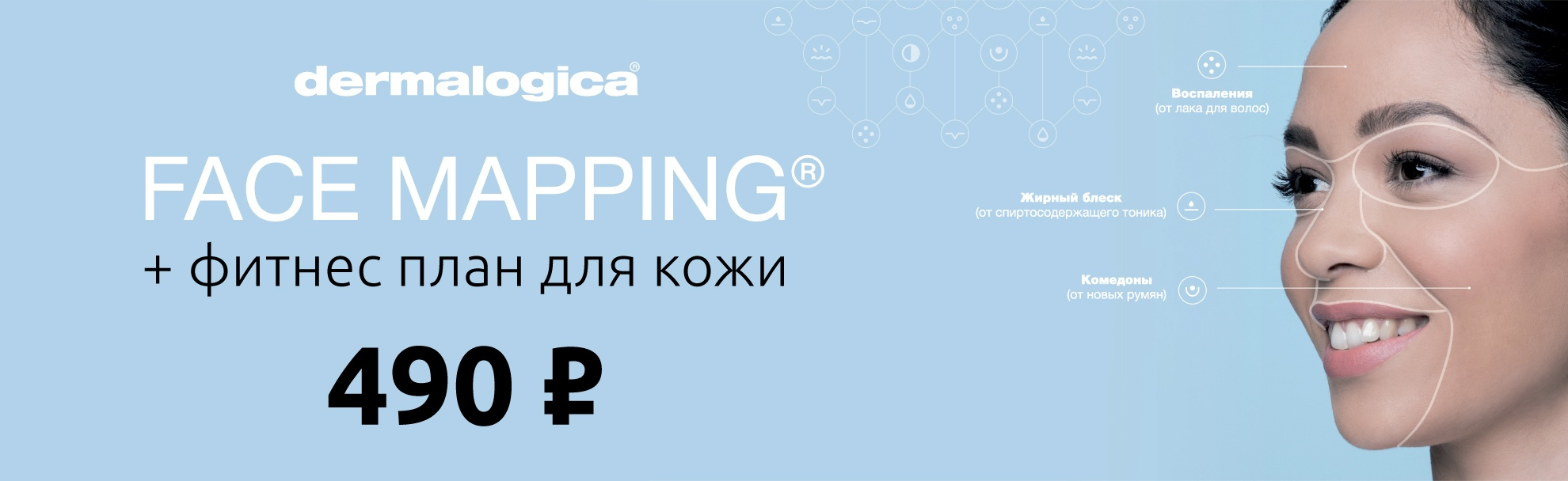 Face mapping + фитнес план для кожи